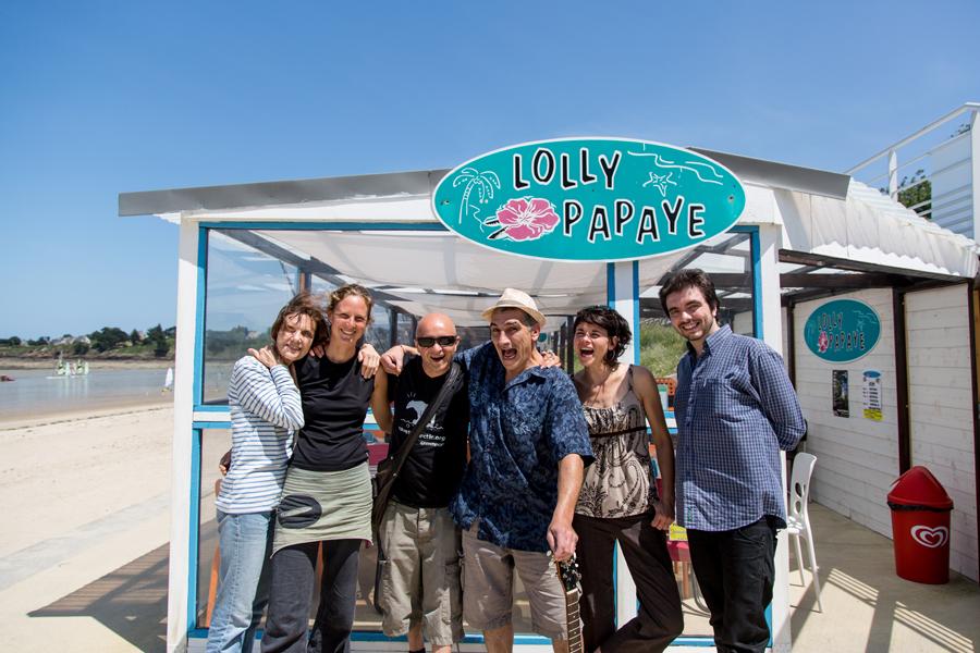 Guizmo et Barbara au Lolly Papaye